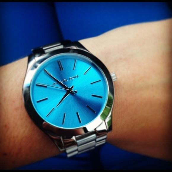 Michael Kors Cobalt Blue Watch